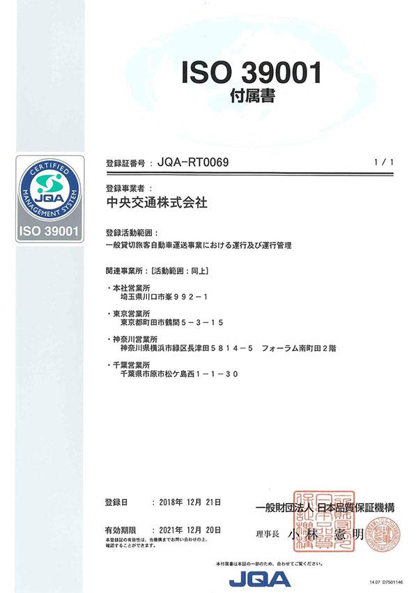 ISO39001 付属書